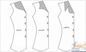انواع یقه لباس زنانه
