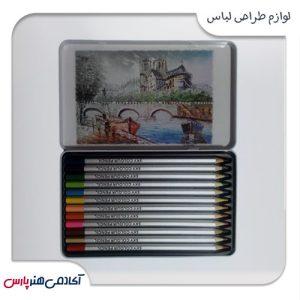 مداد-رنگی-اسکای-مدل-ونیز-12-رنگ