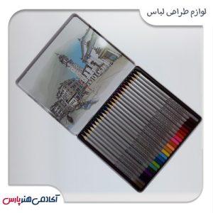 مداد-رنگی-اسکای-مدل-ونیز-24-رنگ