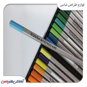 مداد رنگی اسکای مدل ونیز 36 رنگش
