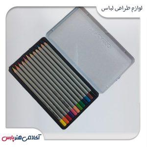 مداد رنگی پیکاسو مدل آرتیست 12 رنگ