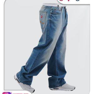 الگوی آماده شلوار جین بگ دار