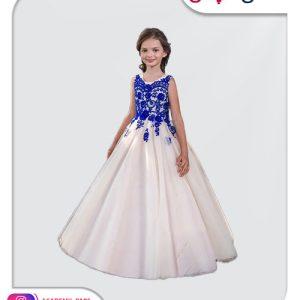 الگوی آماده پیراهن پرنسسی دخترانه