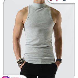 الگوی آماده زیرپوش یقه گردنی مردانه