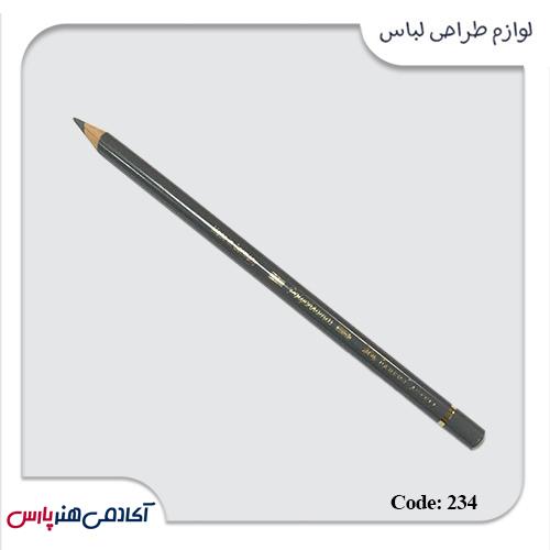 مدادرنگی فابرکستل پلی کروم کد 234 رنگ خاکستری سرد5