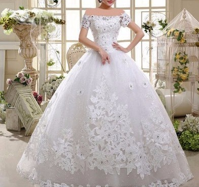 آموزش دوخت لباس عروس